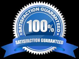 Carpet Repair Satisfaction Guarantee Badge
